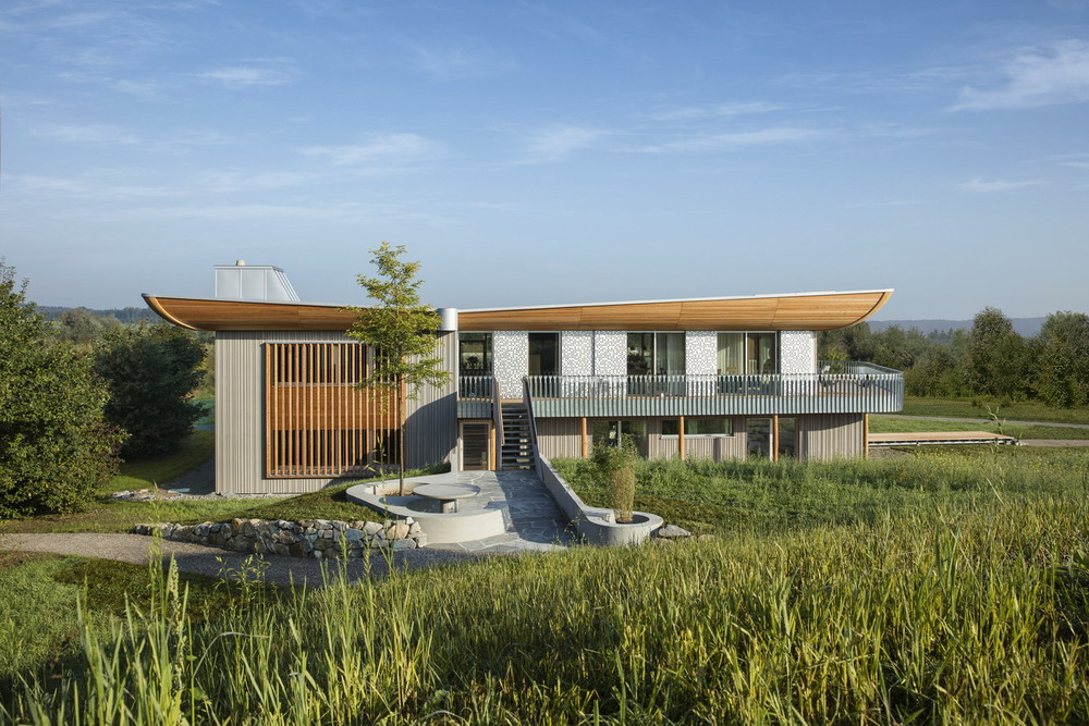 Высокотехнологичный деревянный дом в Германии